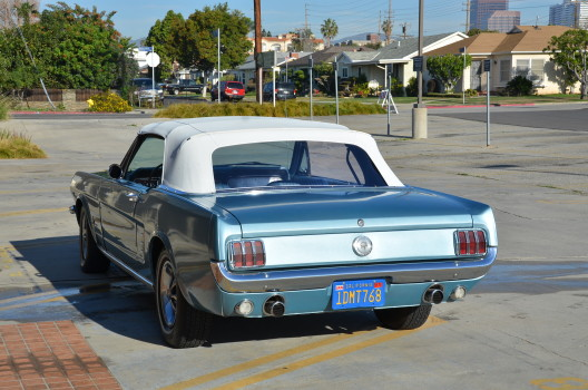 1966 Ford Mustang Convertible 289 V8